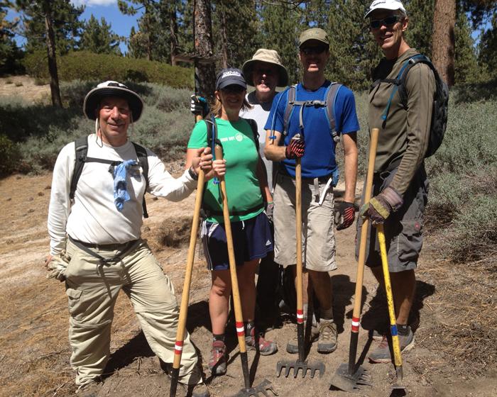 Skyline Trail ? Trail Work Day ? Big Bear