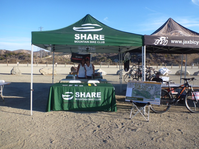 SHARE Mountain Bike Club at the OC Parks 2016 Whiting Ranch Poker Ride