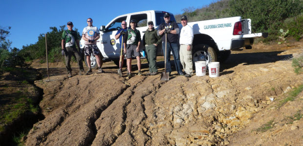 Trail Work Day in Crystal Cove | Report