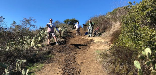 Trail Work Day – Crystal Cove – Jan 20, 2018 | Report