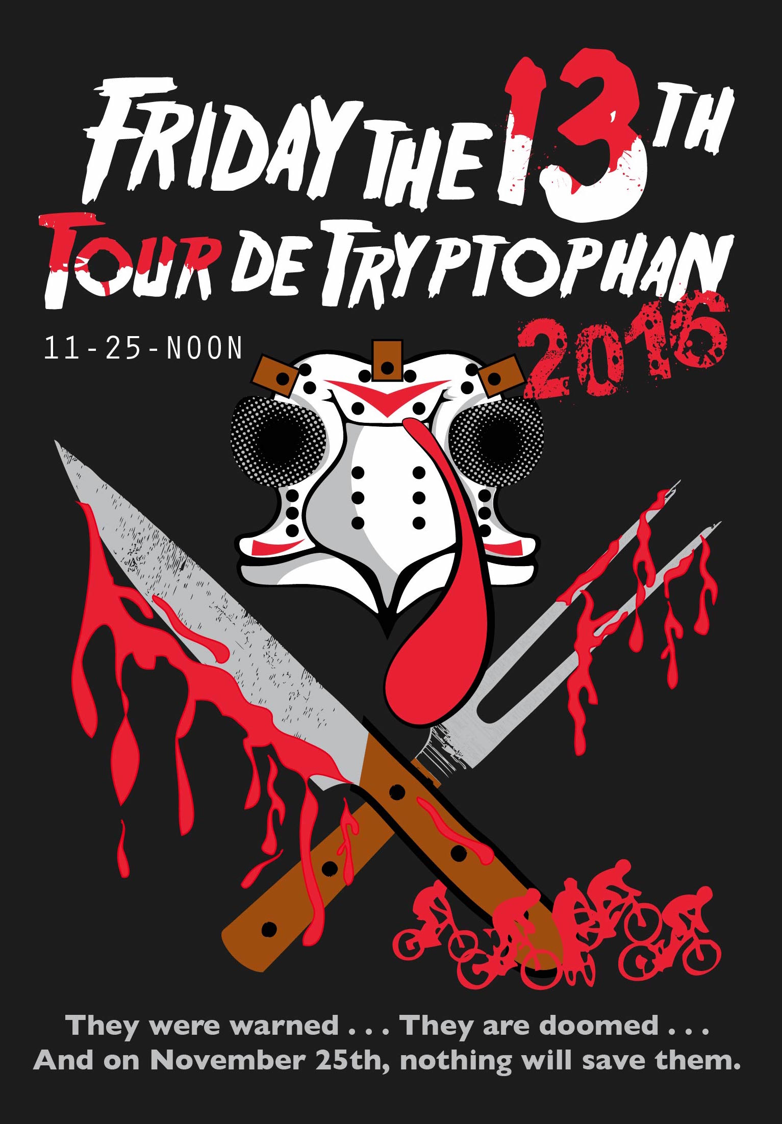 2016 Black Friday Tour de Tryptophan/24 Hours of the Fullerton Loop Benefits SHARE Mountain Bike Club