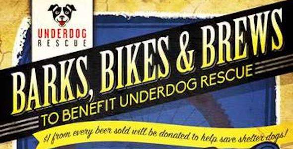Barks, Bikes & Brews Fundraiser | Sept 9
