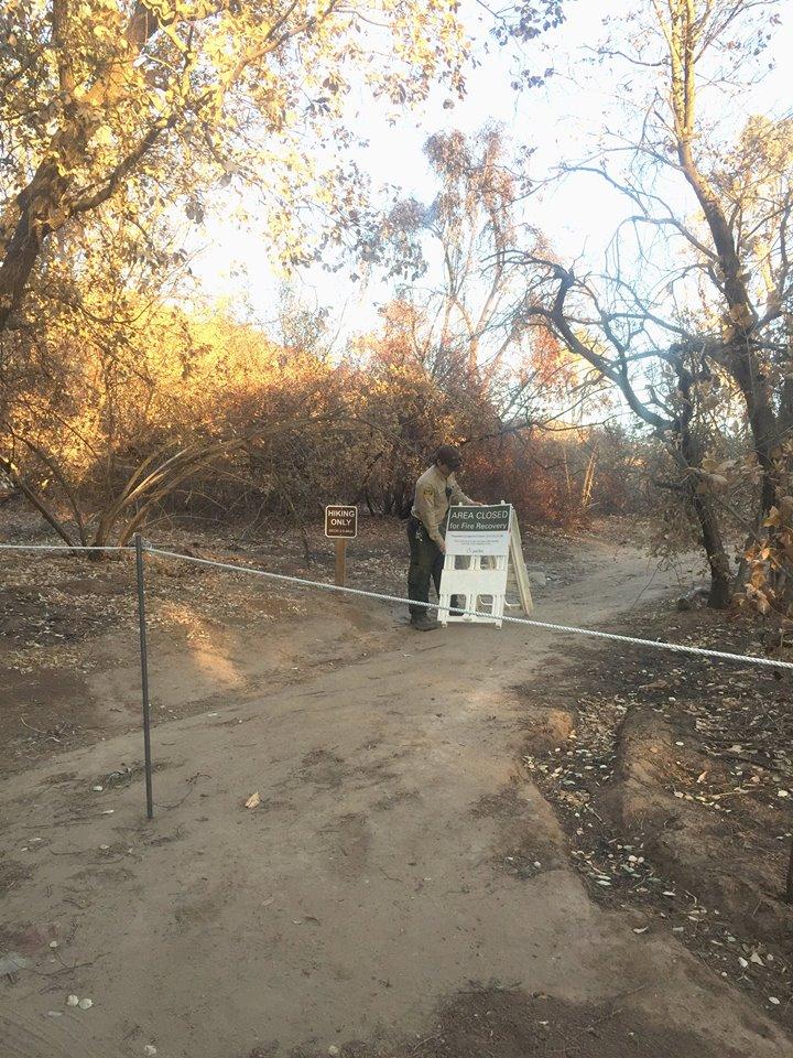 Portions of Santiago Oaks to reopen Dec 9!