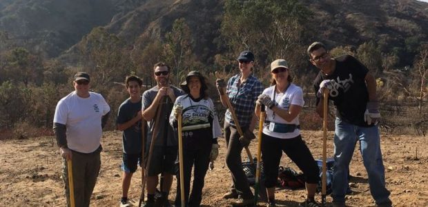 Trail Work Day – Santiago Oaks – Jan 7, 2018 | Report