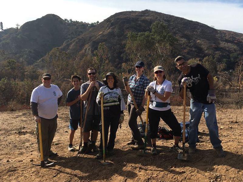 Trail Work Day – Santiago Oaks – Jan 7, 2018 | Report