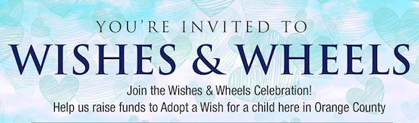 Wishes & Wheels (Adopt a Wish OC Fundraiser) | Feb 22