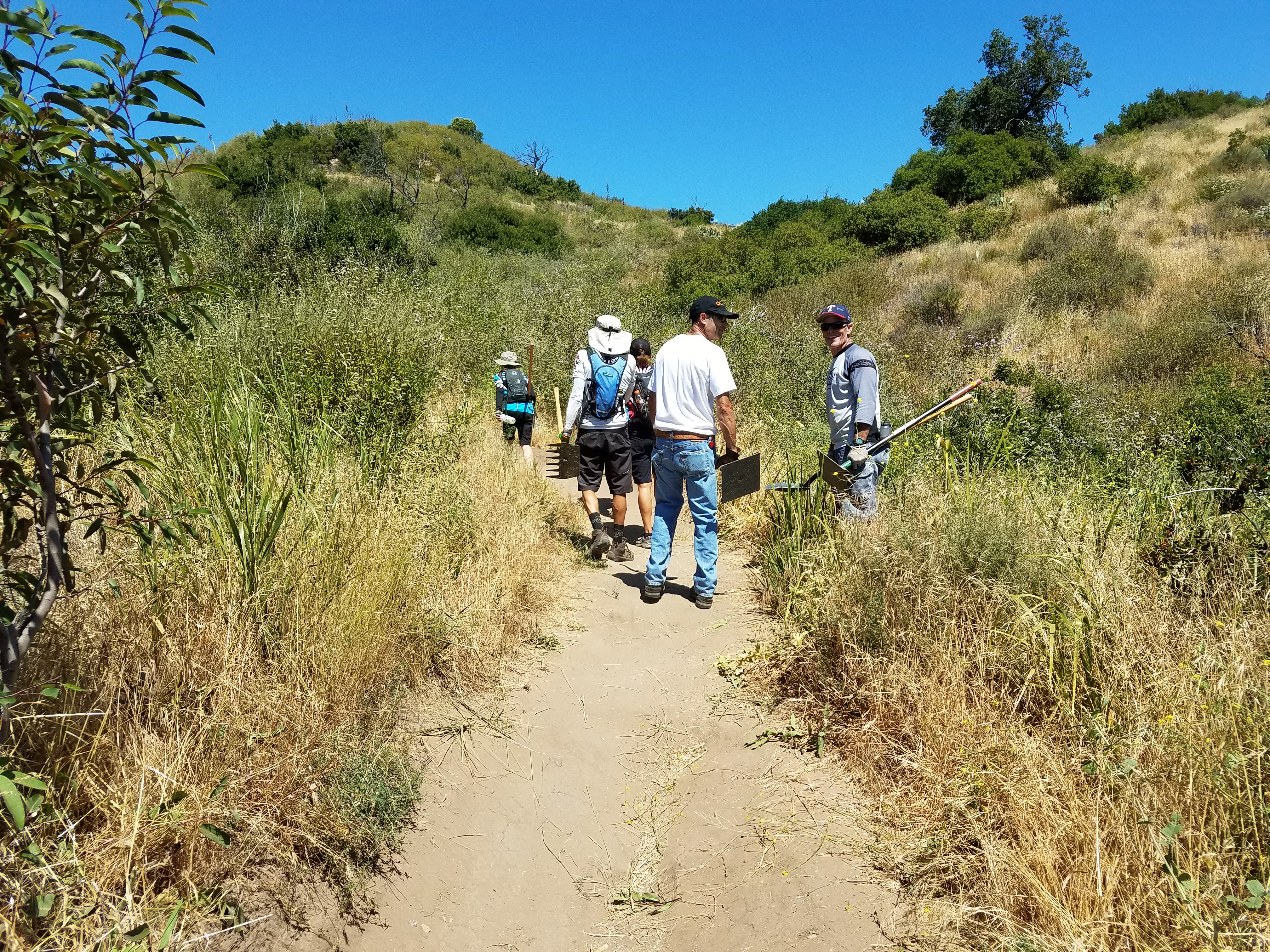 Trail Work Day in Whiting Ranch – May 22, 2017 | Report
