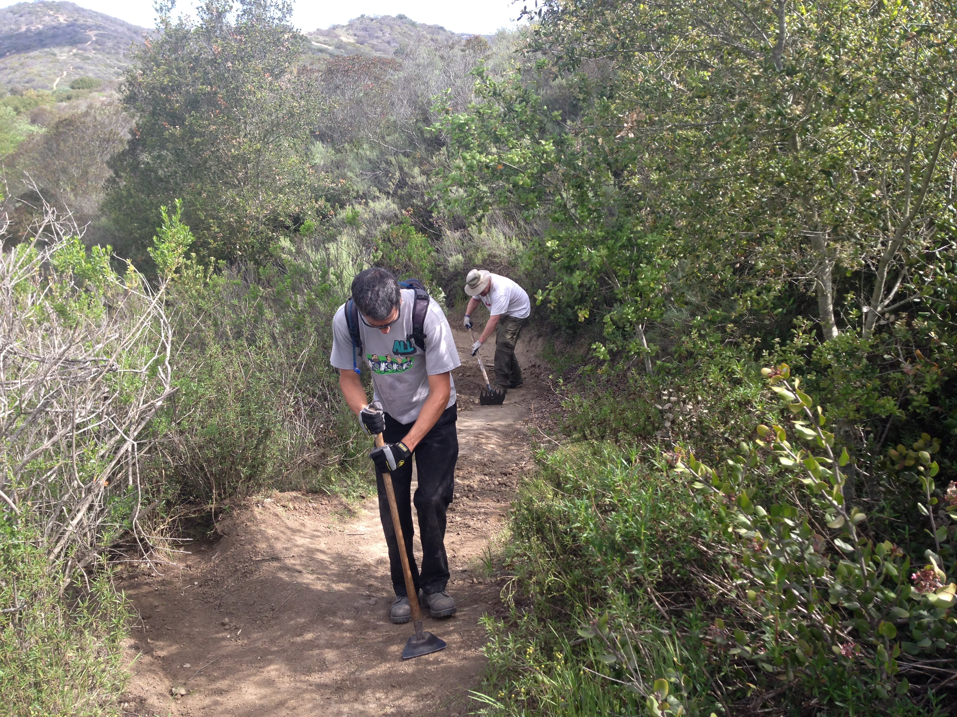 Trail Work Day in O'Neill Park – Saturday November 8