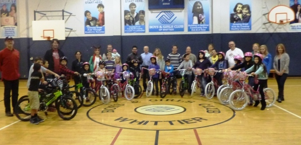 SHARE the Holidays – First Bike to Underprivileged Children – Mark Reynolds Fund