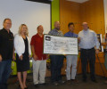 REI Presents $30,000 Check to SHARE / IMBA and OC Parks for the Craig Bike Park