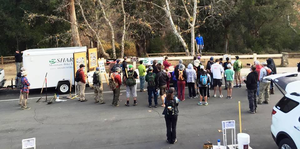 Trail Work Day in Santiago Oaks|wrap-up