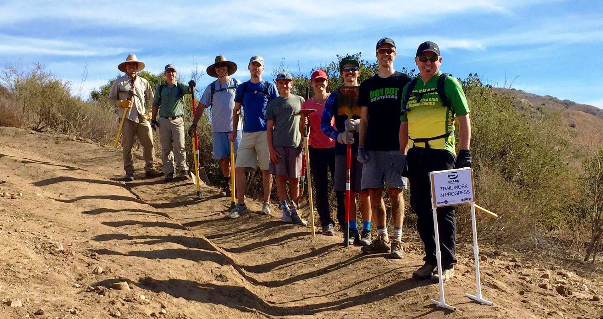 Trail Work Day in Whiting Ranch|wrap-up