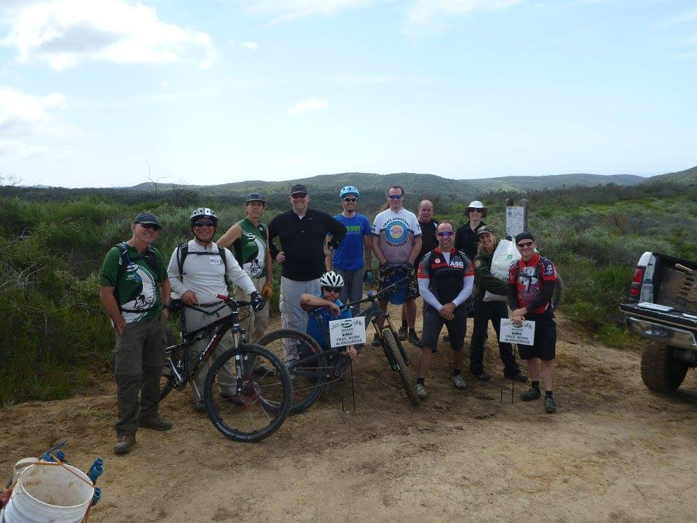 Crystal Cove State Park Trail Work Day | Success!