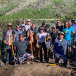 El Moro trail work 3/1/2020